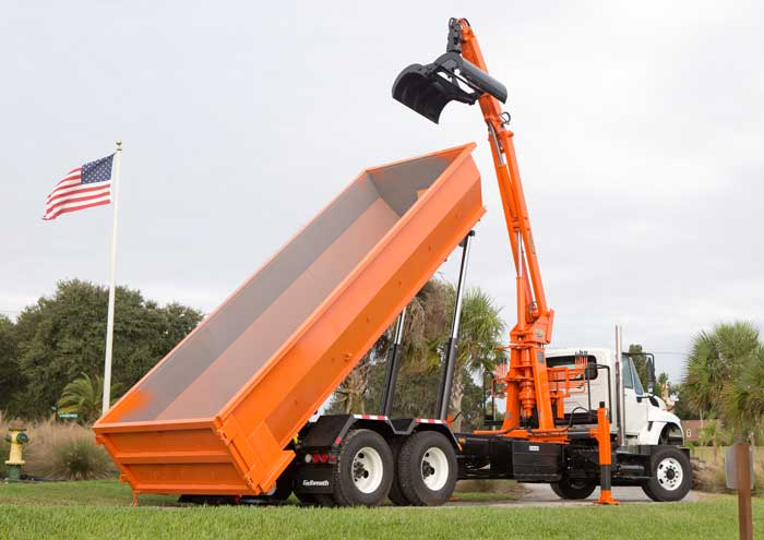 BL3 KUCKLE BOOM GRAPPLE LOADER